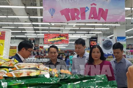"""Hà Nội: Siêu thị """"Khóa giá"""" trong dịp Tết Nguyên đán"""