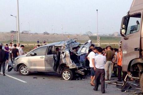 Truy tố hai lái xe gây tai nạn trên đường cao tốc Hà Nội – Thái Nguyên