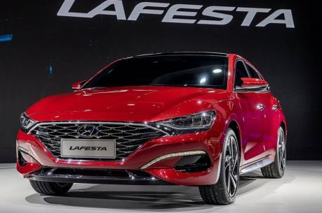 """Hyundai sẽ """"trình làng"""" mẫu ô tô điện Lafesta trong năm 2020"""