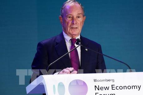 Bầu cử tổng thống Mỹ: Tỷ phú Bloomberg chính thức ra đua tranh