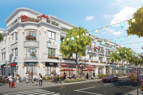 Dãy shophouse FLC Olympia Lao Cai tạo ấn tượng trên thị trường