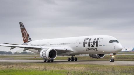 Fiji Airways sẽ bay thương mại bằng Airbus A350-900 XWB mới từ 1/12 tới