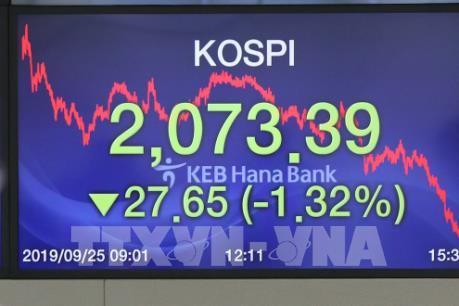 Hàn Quốc tụt bậc về xếp hạng vốn hóa thị trường chứng khoán