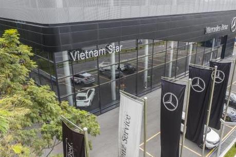 Khai trương đại lý Mercedes-Benz Vietnam Star chi nhánh Bình Dương