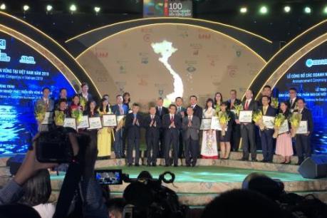 Vinh danh 20 doanh nghiệp phát triển bền vững xuất sắc nhất tại Việt Nam năm 2019