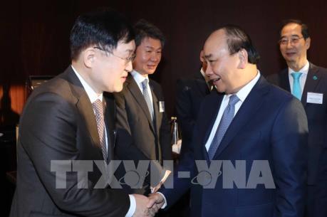 Thủ tướng Nguyễn Xuân Phúc dự Diễn đàn Doanh nghiệp Việt Nam – Hàn Quốc