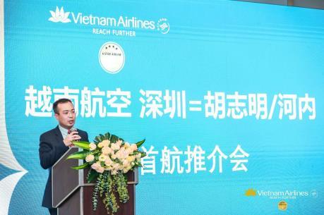 Vietnam Airlines khai trương đường bay giữa Việt Nam và Thâm Quyến (Trung Quốc)