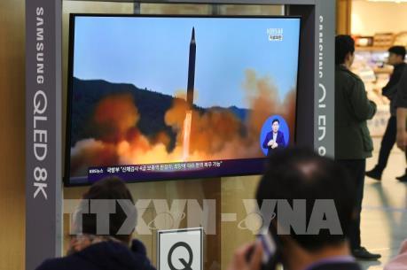 Nhật Bản: Triều Tiên phóng vật thể bay hướng về phía biển nước này