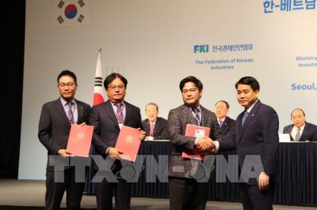 Hàn Quốc đầu tư lớn vào Hà Nội
