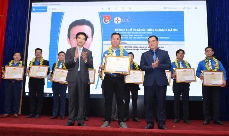 Vinh danh 10 ý tưởng sáng tạo trẻ ngành điện lực Việt Nam