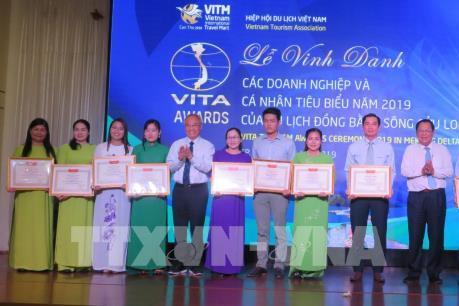 Vinh danh 60 doanh nghiệp du lịch tiêu biểu khu vực ĐB sông Cửu Long