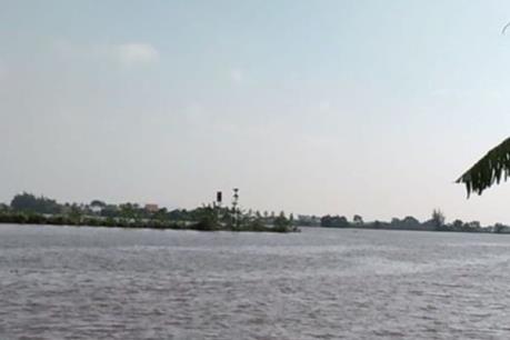 Hải Phòng: Xác minh vụ chìm tàu chở gạch trên sông Văn Úc