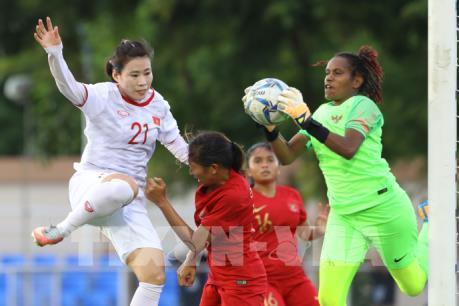 Đội tuyển bóng đá nữ Việt Nam sẽ đối đầu Philippines ở bán kết SEA Games 30