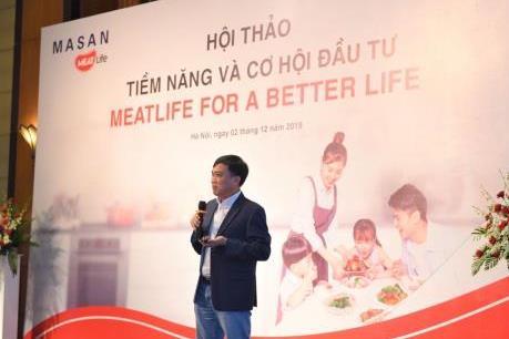 Masan MEATLife hướng tới vị trí số 1 về cung cấp thịt mát