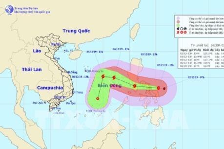 Dự báo thời tiết hôm nay: Bão Kamuri giật cấp 17 sẽ đi vào Biển Đông