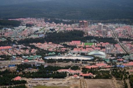 Triều Tiên khánh thành dự án xây dựng thành phố mới Samjiyon