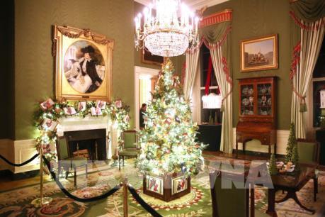 Nhà Trắng (Mỹ) trang hoàng chuẩn bị đón Giáng sinh 2019
