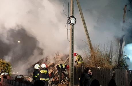 Nổ gas gây sập tòa nhà 3 tầng