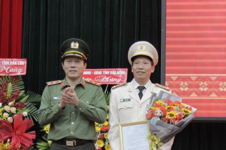 Đại tá Lê Văn Tuyến được điều động làm Giám đốc Công an tỉnh Đắk Lắk