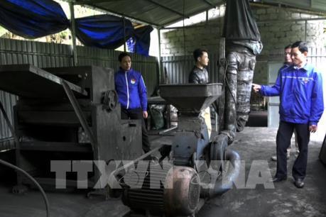 Tận dụng rác thải chế biến tre, luồng để sản xuất than hoạt tính