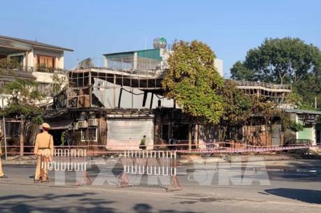 Danh tính 4 nạn nhân trong vụ cháy quán ăn ở Vĩnh Phúc