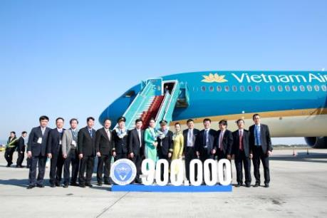 Hàng không Việt Nam đón chuyến bay điều hành thứ 900.000 năm 2019