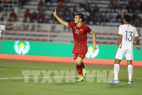 SEA Games 30: Tiền đạo Tiến Linh có thể đá chung kết gặp U22 Indonesia?