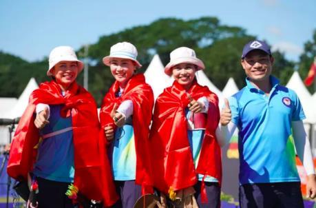 SEA Games 30: Bắn cung Việt Nam giành HCV đầu tiên