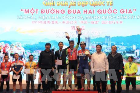 """Bế mạc Giải đua xe đạp quốc tế """"Một đường đua hai quốc gia"""" Việt Nam-Trung Quốc năm 2019"""