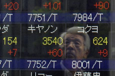 Chứng khoán châu Á tăng điểm theo đà tăng trên Phố Wall