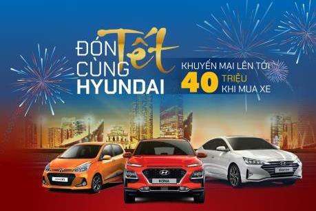 TC MOTOR khuyến mại đến 40 triệu đồng cho khách mua xe Hyundai