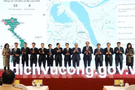Thủ tướng dự Lễ khai trương Cổng Dịch vụ công quốc gia