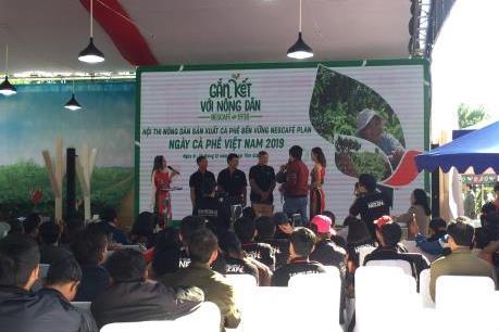 Lâm Đồng giành giải nhất Hội thi nông dân sản xuất cà phê bền vững