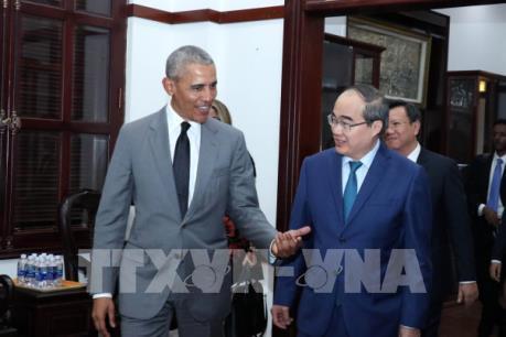 Cựu Tổng thống Barack Obama sẵn sàng làm cầu nối cho doanh nghiệp đến đầu tư tại Việt Nam