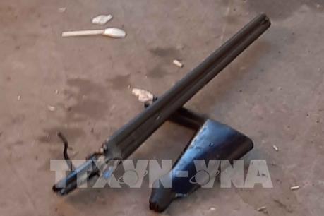 Điều tra vụ nổ nghi do súng tự chế tại ngõ Phan Huy Chú, Hà Nội