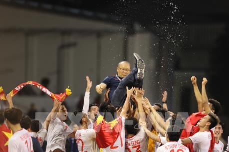 U23 Việt Nam chăm chỉ tập luyện ở miền Nam Hàn Quốc