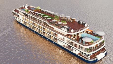 Đưa vào vận hành du thuyền cao cấp kết nối Cần Thơ - Phnom Penh