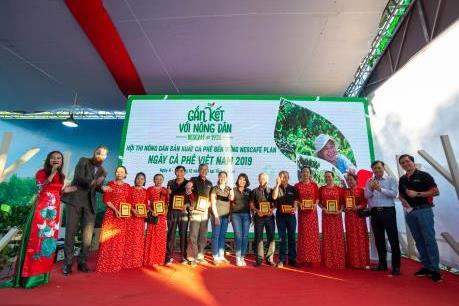 NESCAFÉ Plan với hành trình gắn kết nông dân về chất lượng cà phê