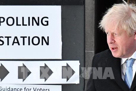 Bầu cử Anh: Đảng Bảo thủ của Thủ tướng B.Johnson trên đà chiến thắng