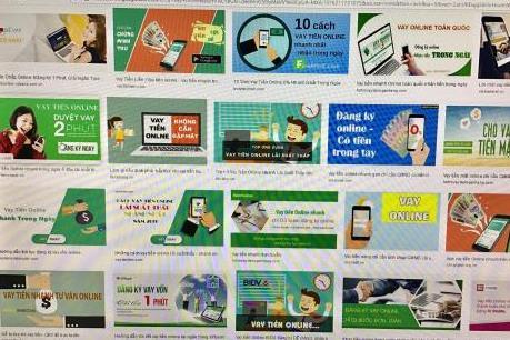 Vay tiền trực tuyến: Cẩn trọng sập bẫy nợ online