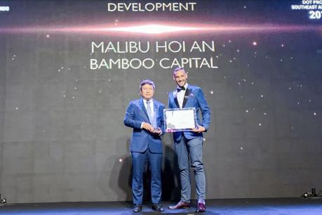 MALIBU Hội An được vinh danh hai hạng mục tại Giải thưởng Dot Property Đông Nam Á 2019