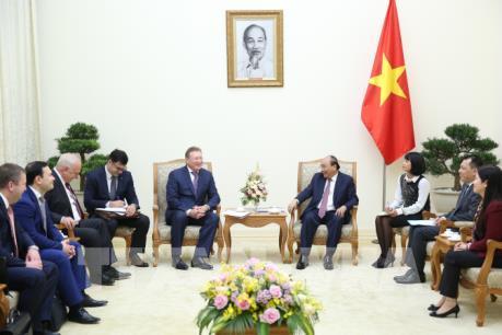 Thủ tướng tiếp Tổng giám đốc Công ty dầu khí Zarubezhneft