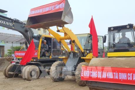 Khởi công khu tái định cư phục vụ dự án Hồ Sen- Cầu Rào 2