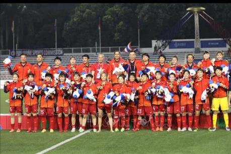 Tăng thêm 2 bậc, Đội tuyển nữ Việt Nam xếp hạng 32 thế giới