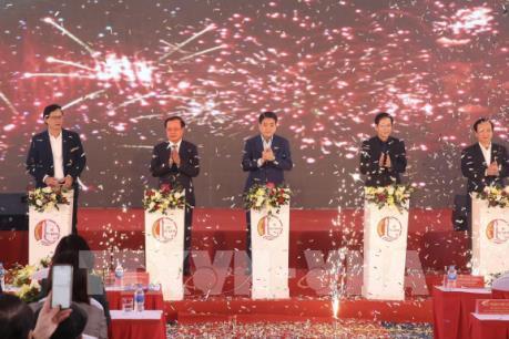 Khởi công xây dựng đường Tây Thăng Long với số vốn gần 1.500 tỷ đồng
