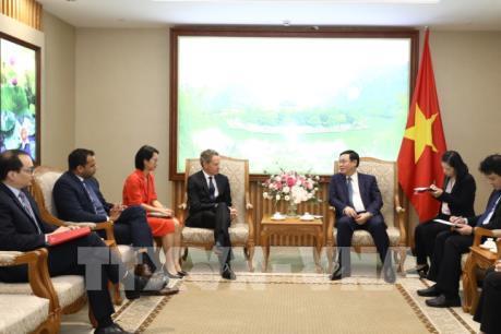 Phó Thủ tướng Vương Đình Huệ: Việt Nam cam kết mở cửa trong lĩnh vực dịch vụ