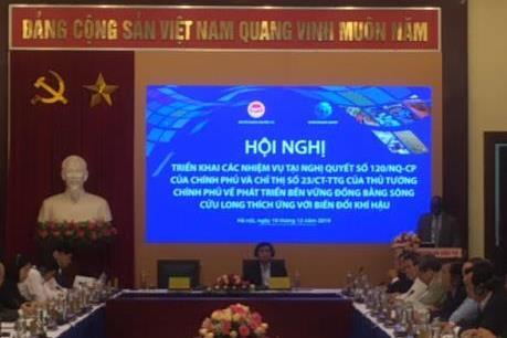 Thu xếp 1 tỷ USD đầu tư cho phát triển bền vững Đồng bằng sông Cửu Long
