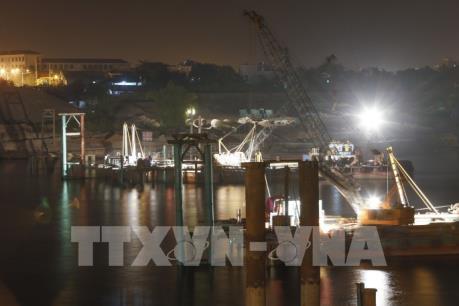 Một công nhân tử vong khi thi công xây dựng cầu Hòa Bình 2