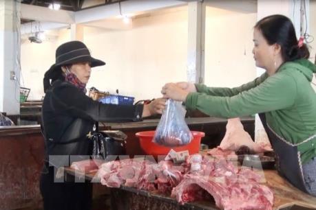 Thanh Hóa bình ổn giá thịt lợn dịp Tết