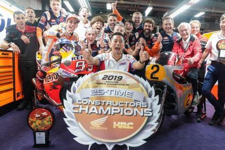 Honda chinh phục thành công danh hiệu Triple Crown MotoGP 2019